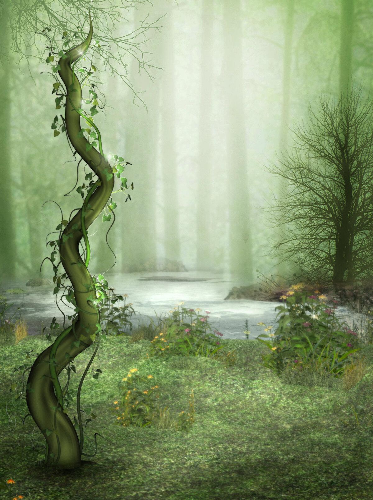 водопадов картинки для коллажей фэнтези клип