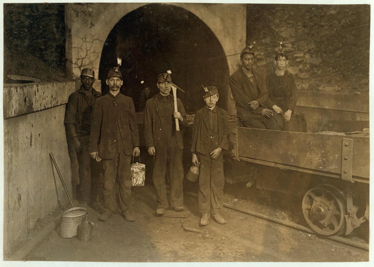 Старые шахтерские фото