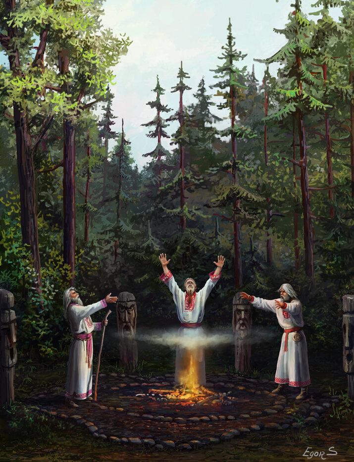 того, картинка идолов русичей темные потолки