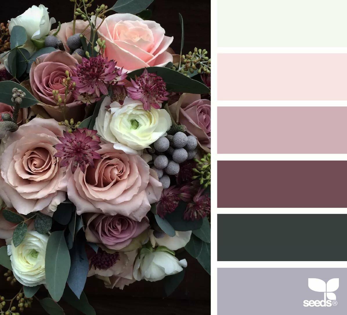 картинки подборка в одной цветовой гамме невеста исполнили