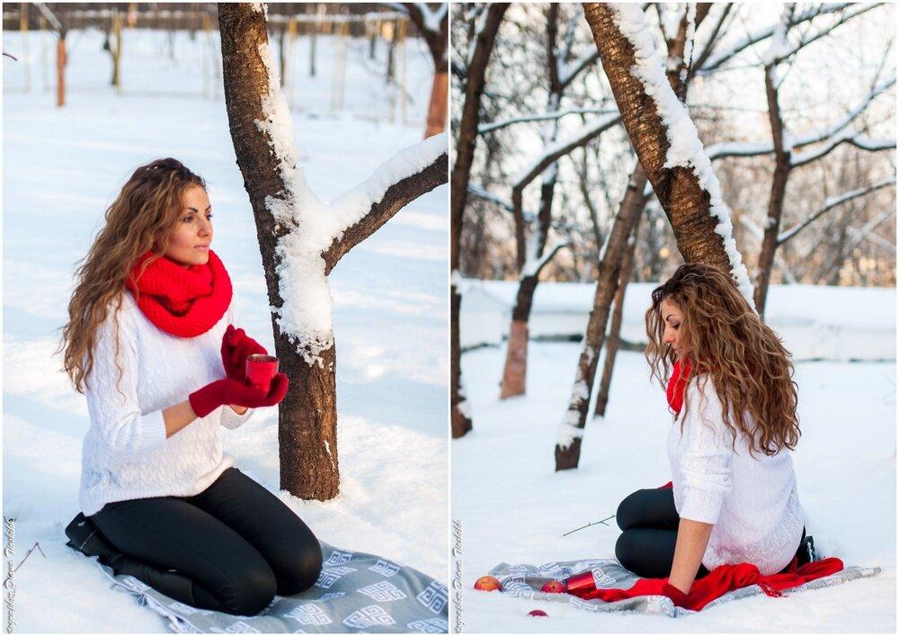В каком стиле фотографироваться зимой
