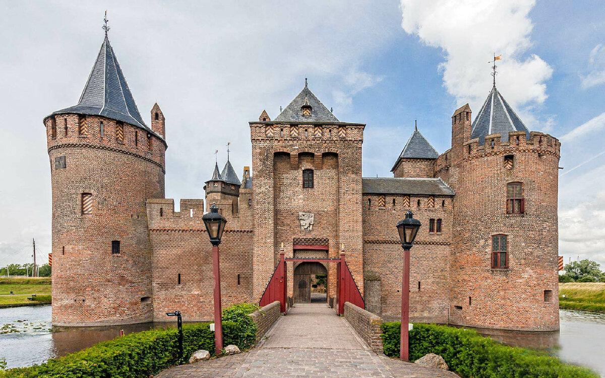Замки средневековье в картинках