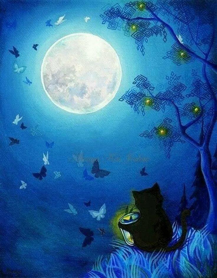 употребляют рисует ночью картинки подобранные
