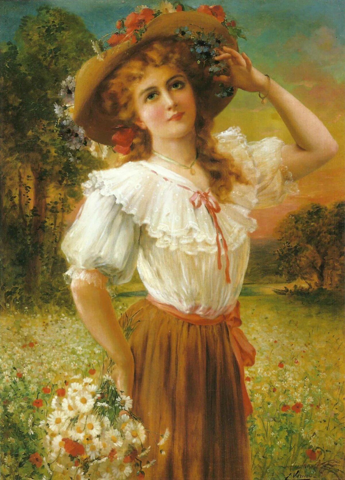 Картинки живопись женские портреты