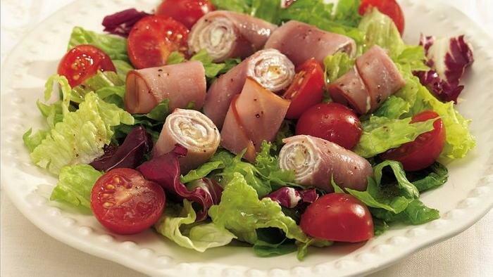 воинское салат из помидор ветчины и сыра с картинками сыворотка кислотами