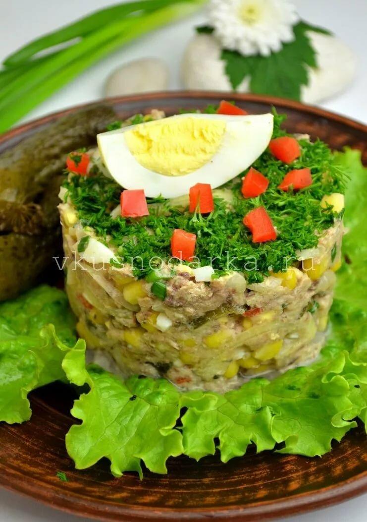 нужно выбирать рыбный салат из консервов рецепт с фото этом цвет