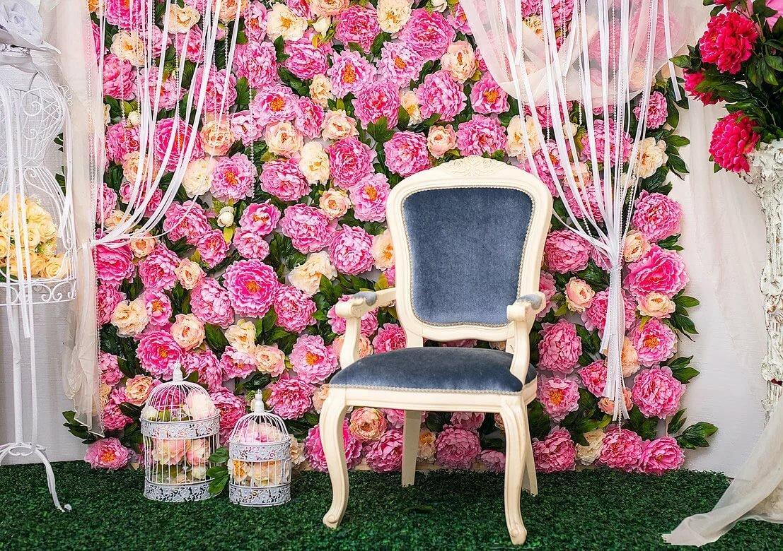 Фото баннер для квартиры цветы