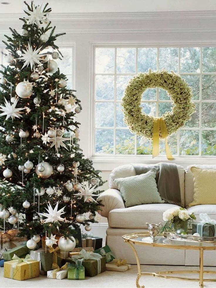 christmas tree decorating ideas - 736×980
