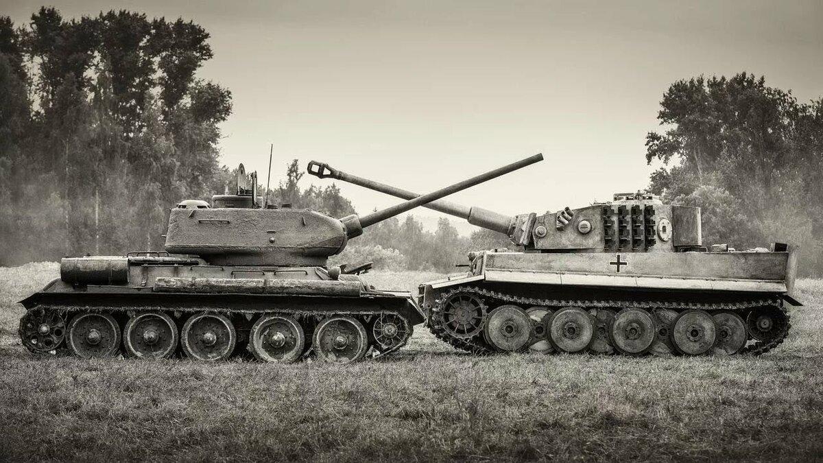 картинки королевский тигр в бою тех