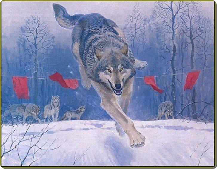 Видно в детстве сосали волчицу и всосали нельзя за флажки