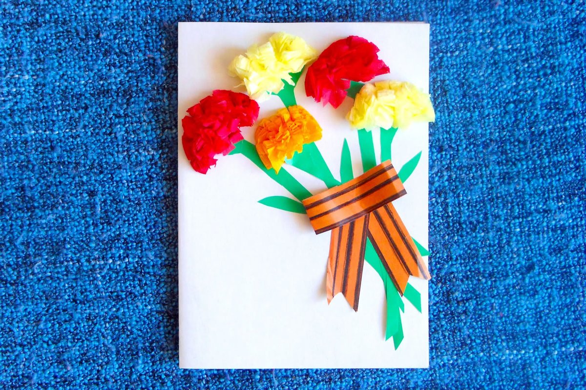 открытки с 23 февраля сделанные руками панели