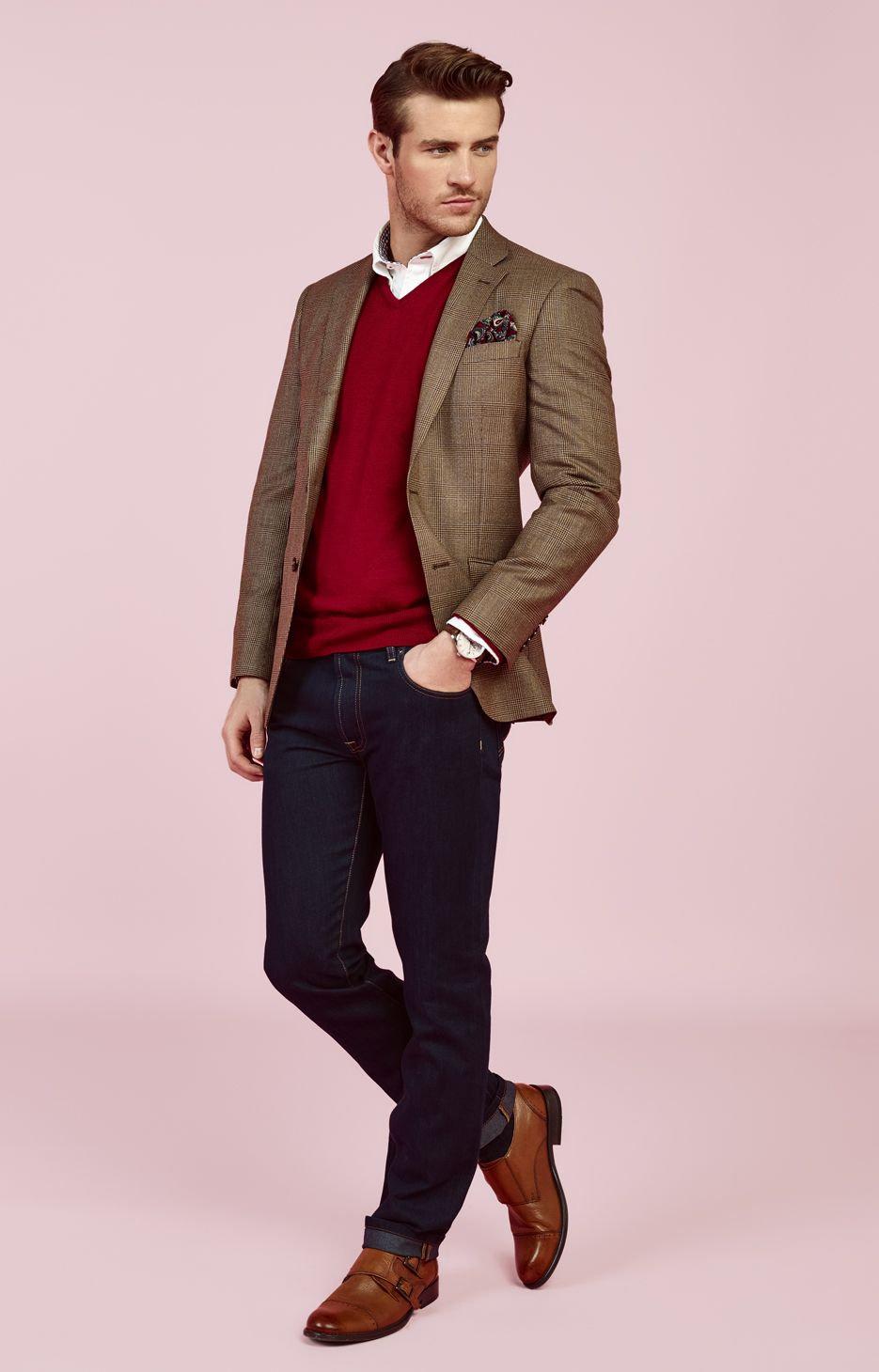 men's casual clothing - 736×1149