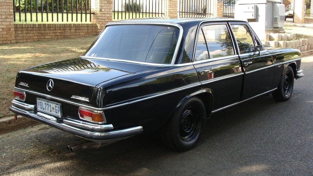 Mercedes w108 экстерьер