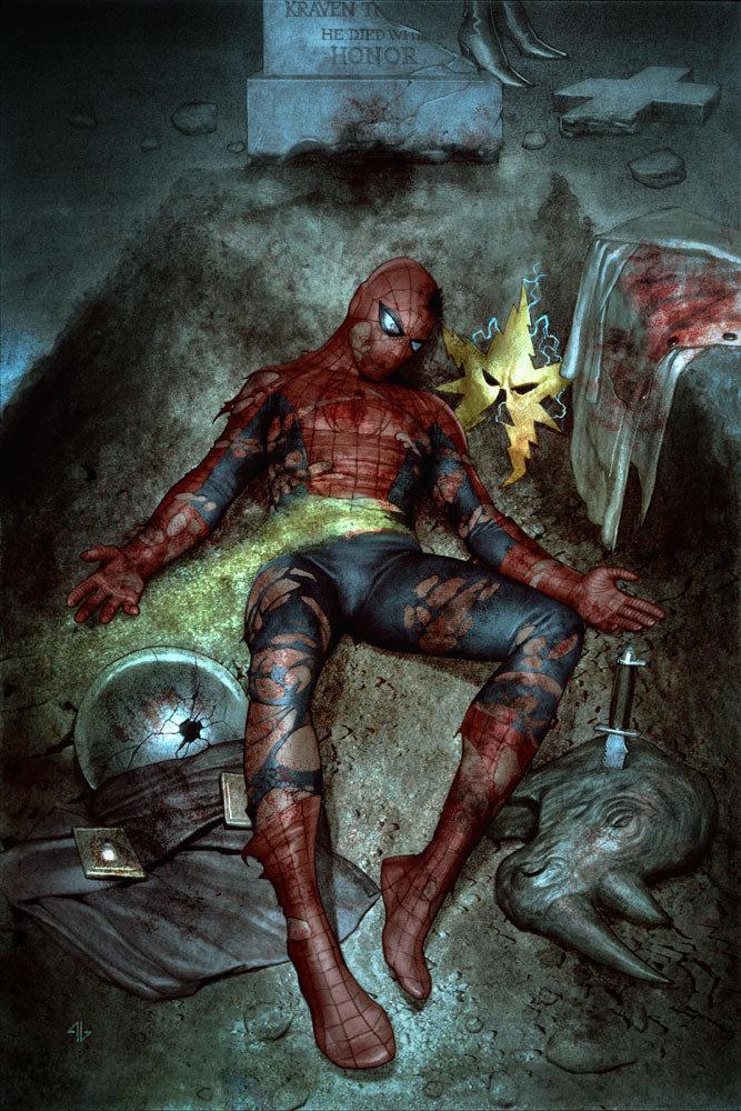 картинки умирающего человека паука категория