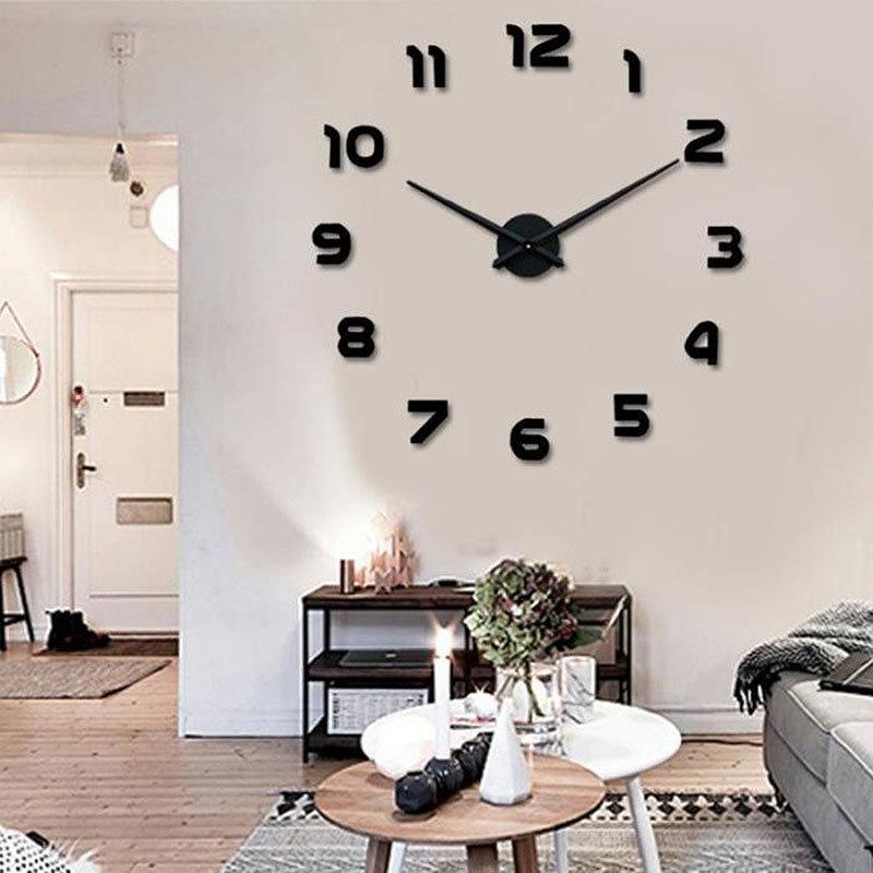 Новинка года настенные часы reloj де сравнению украшения дома 3d акрил специальные стикеры гостиная иглы ,63 - ,39 руб.