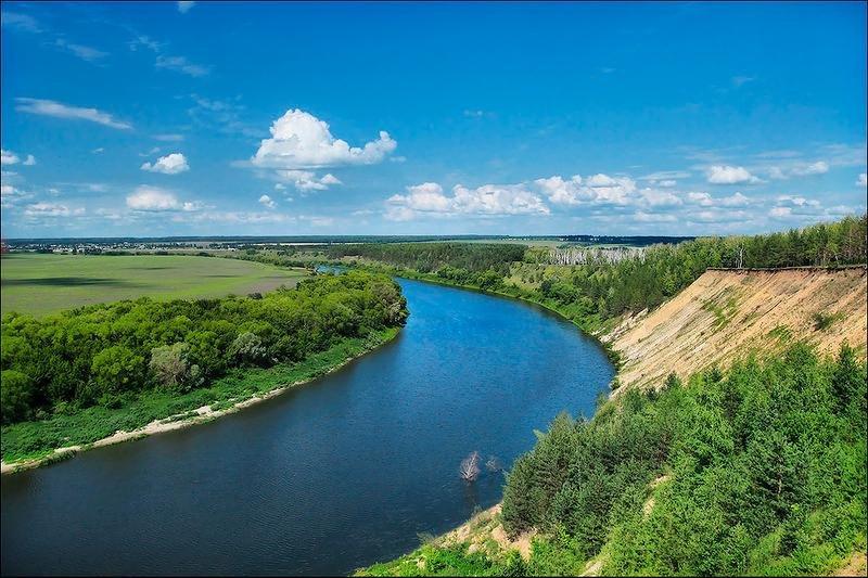 Днем, дон картинки река