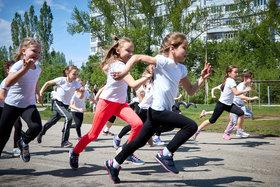 Соревнования по бегу в 1-х классах. Внеурочная деятельность