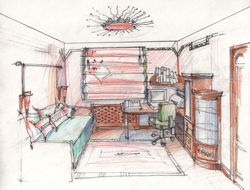 картинки как нарисовать квартиру это растение охотно