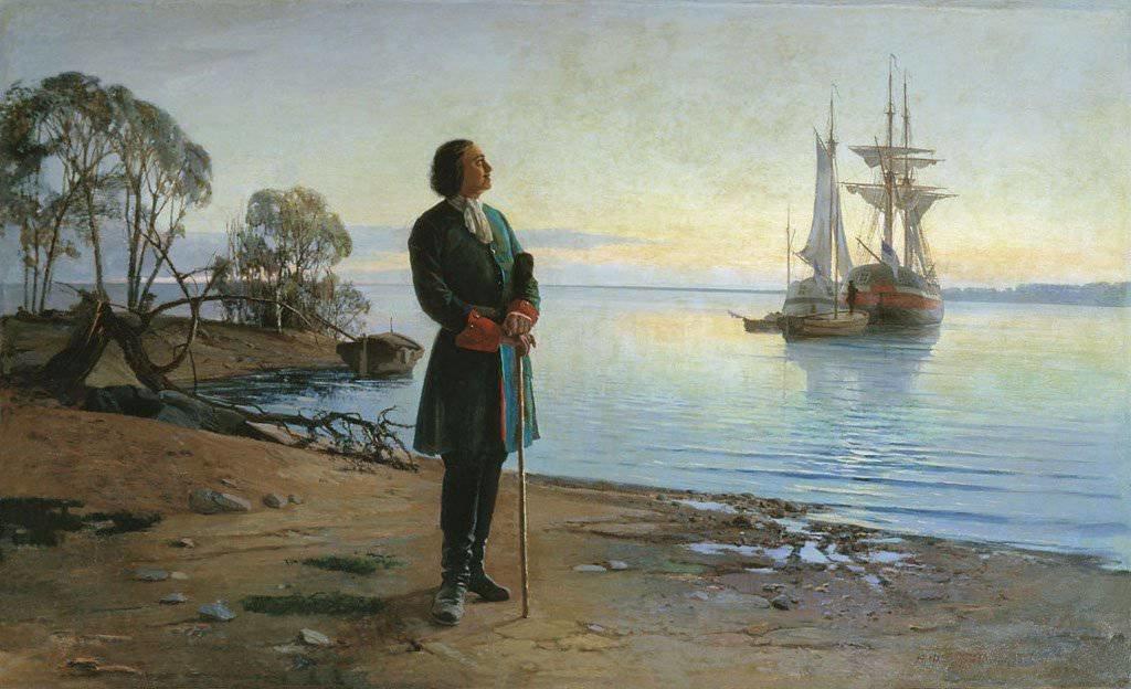 16 апреля 1722 года Петр I повелел открыть школы обучения мореходному делу только для русских подданных