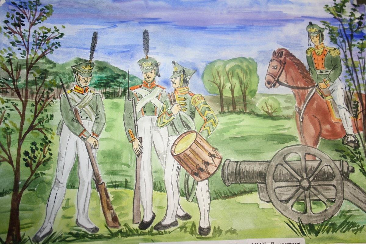 Картинки на тему бородинского сражения