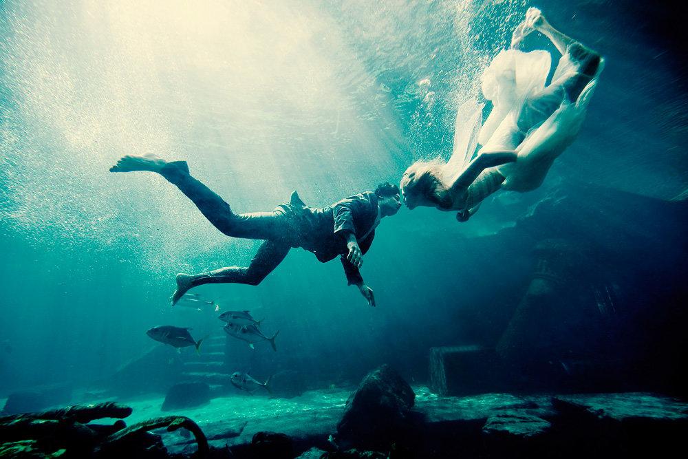 этом под водой пары картинки можно устроить сюрприз