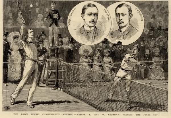 22 марта 1874 г. Впервые была проведена игра в большой теннис