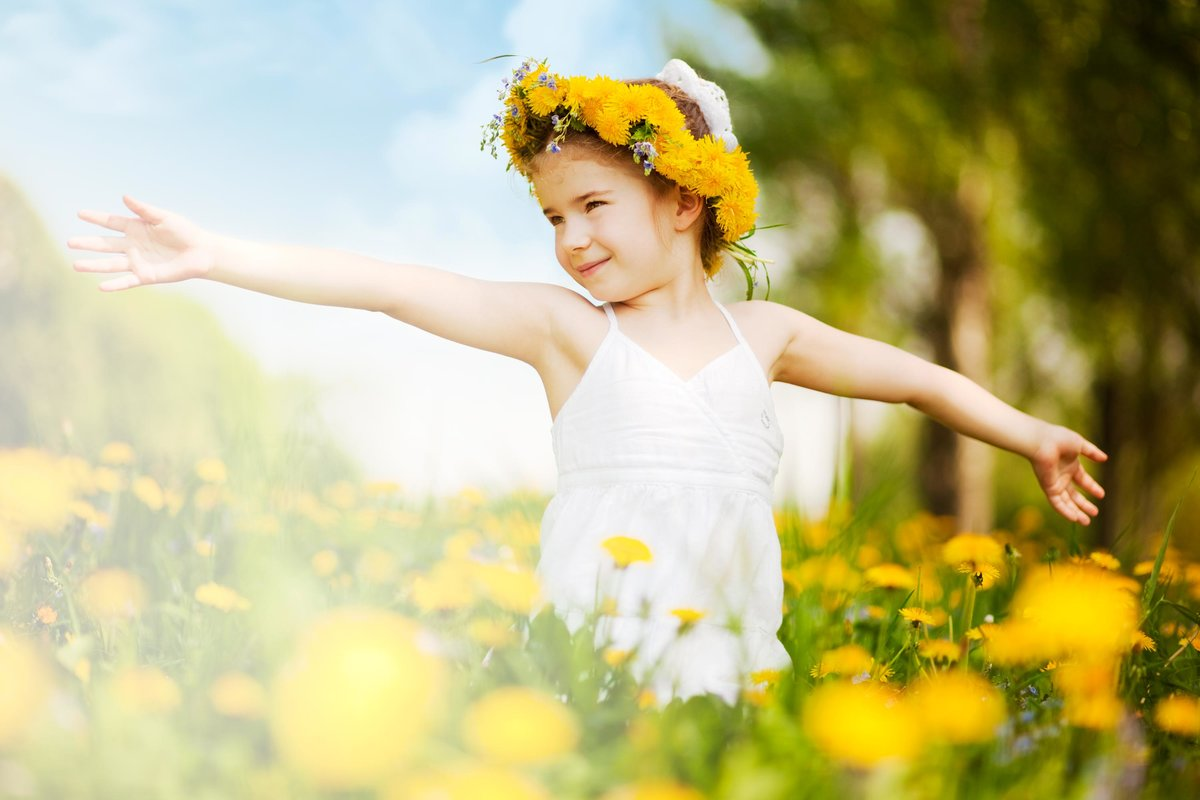 Солнечный ребенок картинки