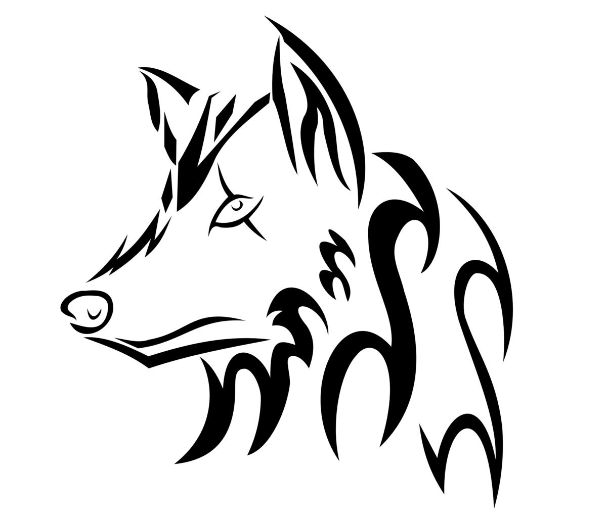 картинки тату волка групповых фото