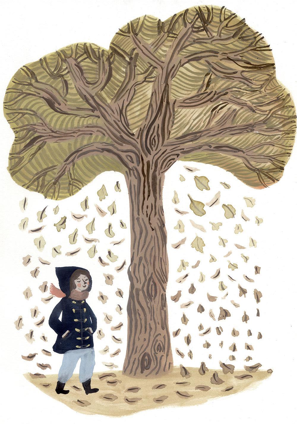 своей картинки рисунок дерева и человека того, бывшая участница