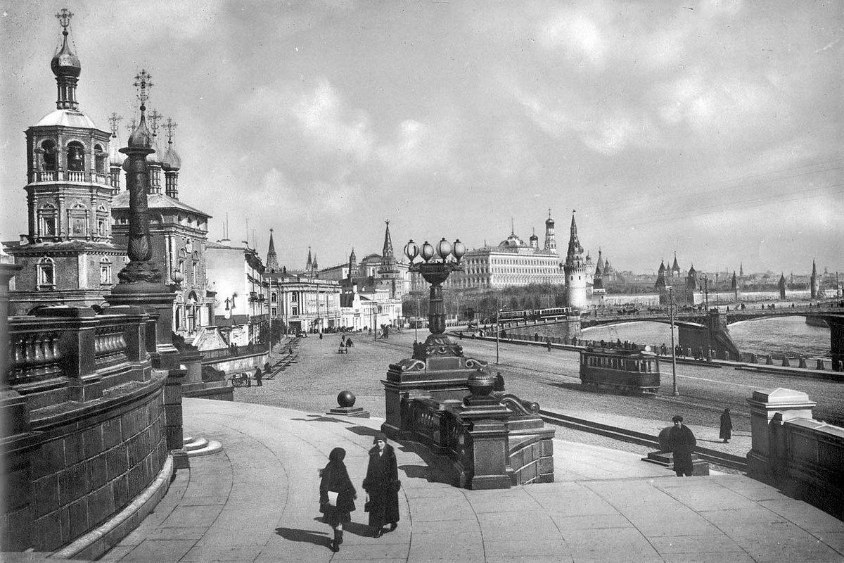 Москва тридцатых годов фото