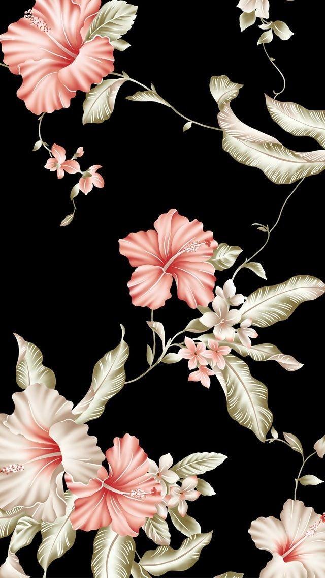 Картинки на телефон цветы на темном фоне