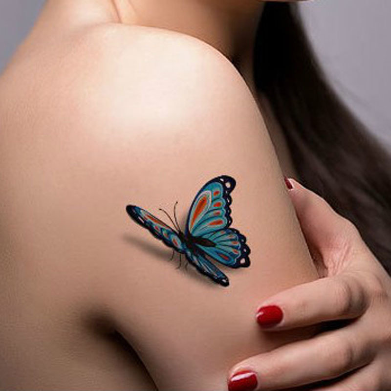 Naked girl with butterfly tattoo, nudist teen sex exib