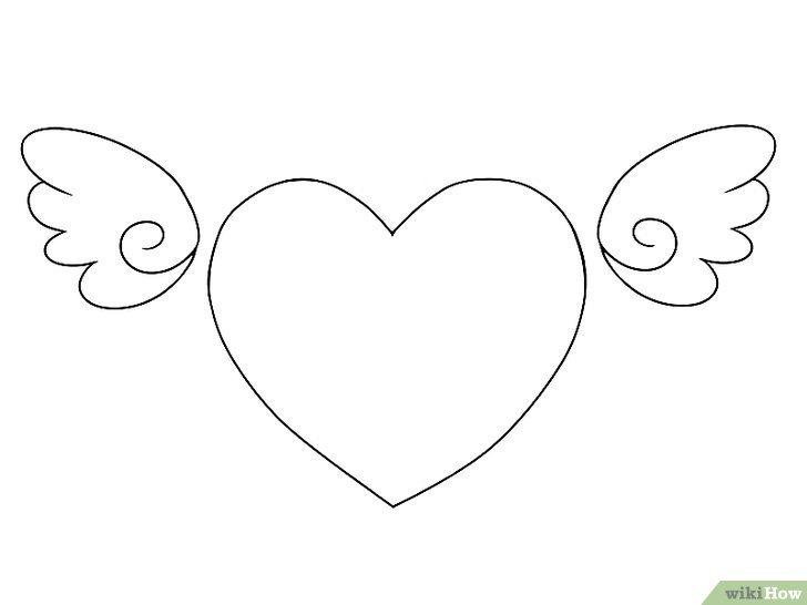 баню, картинки как нарисовать сердце с крыльями красивые самих русских здесь