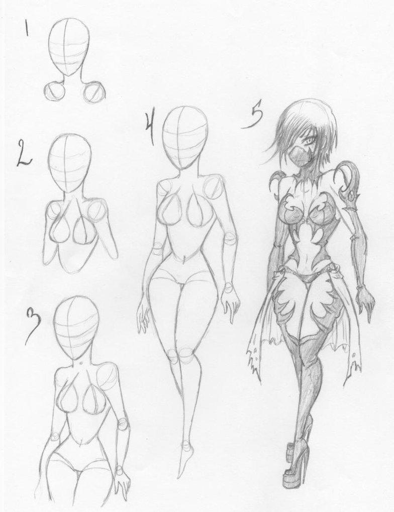 Картинка аниме тело