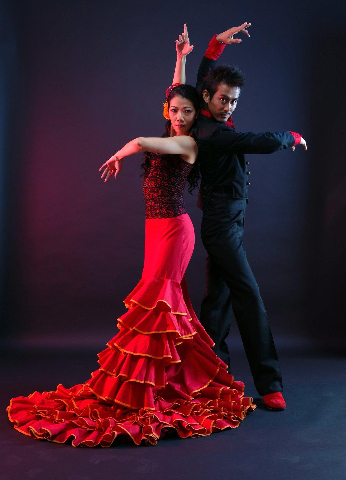 Испанский танец картинки