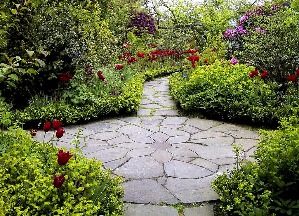 Садовая дорожка картинки