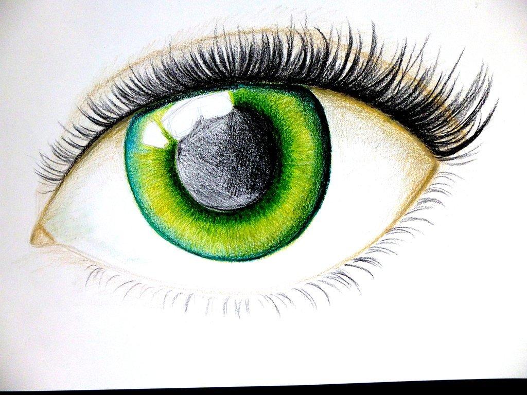 меню картинка глаза человека рисовать этих снимках