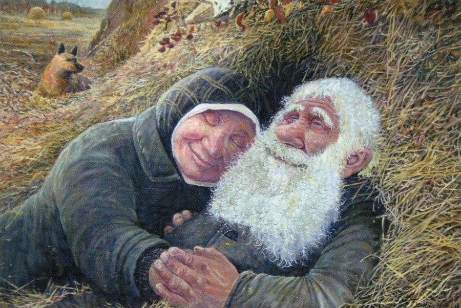 Лет, картинки веселые старички и старушки