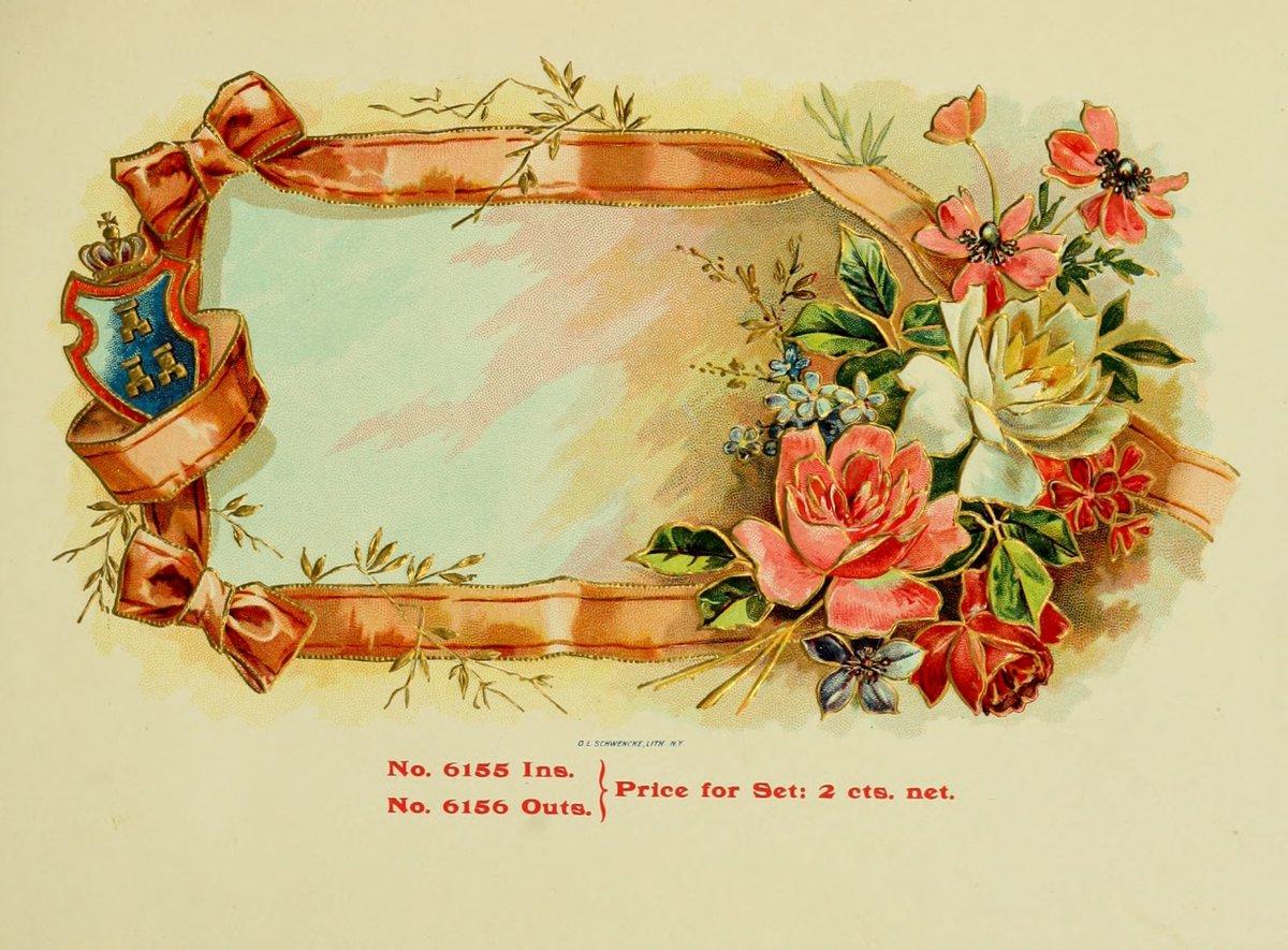 Годовщине, старинные открытки в векторе