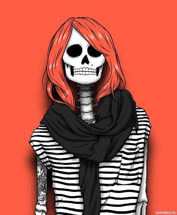 Картинки крутые скелеты
