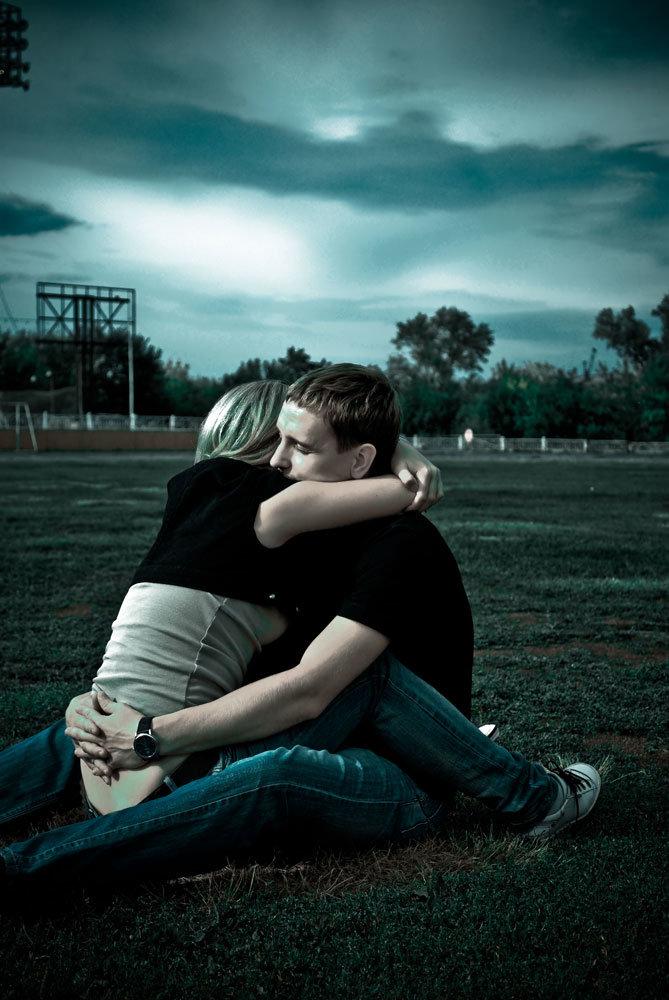 Картинка о грустной любви