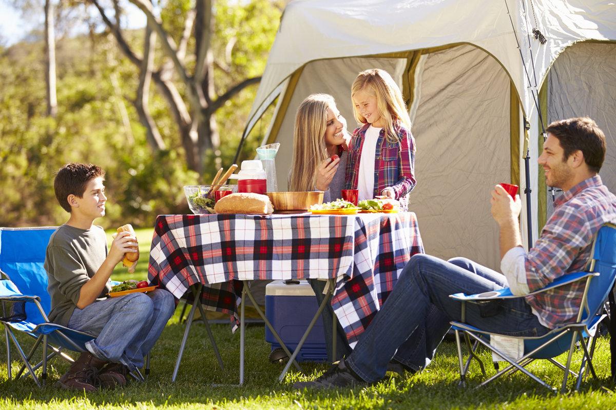 алкоголя картинка где семья с палаткой на пикнике тебя