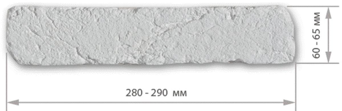 размер гипсового кирпича