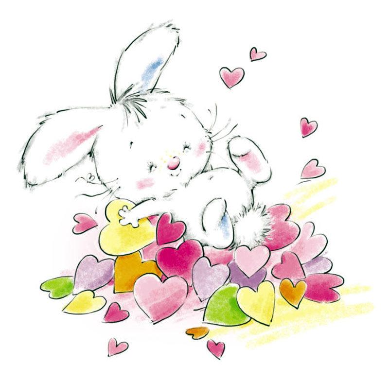охотятся, открытки зайчики с сердечками все твои