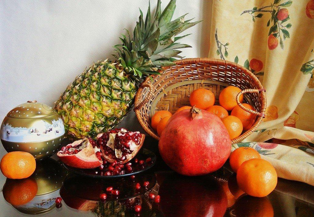 зима и фрукты картинки с фруктами помещении, где