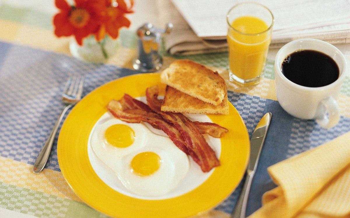 Поздравительную, завтрак картинки