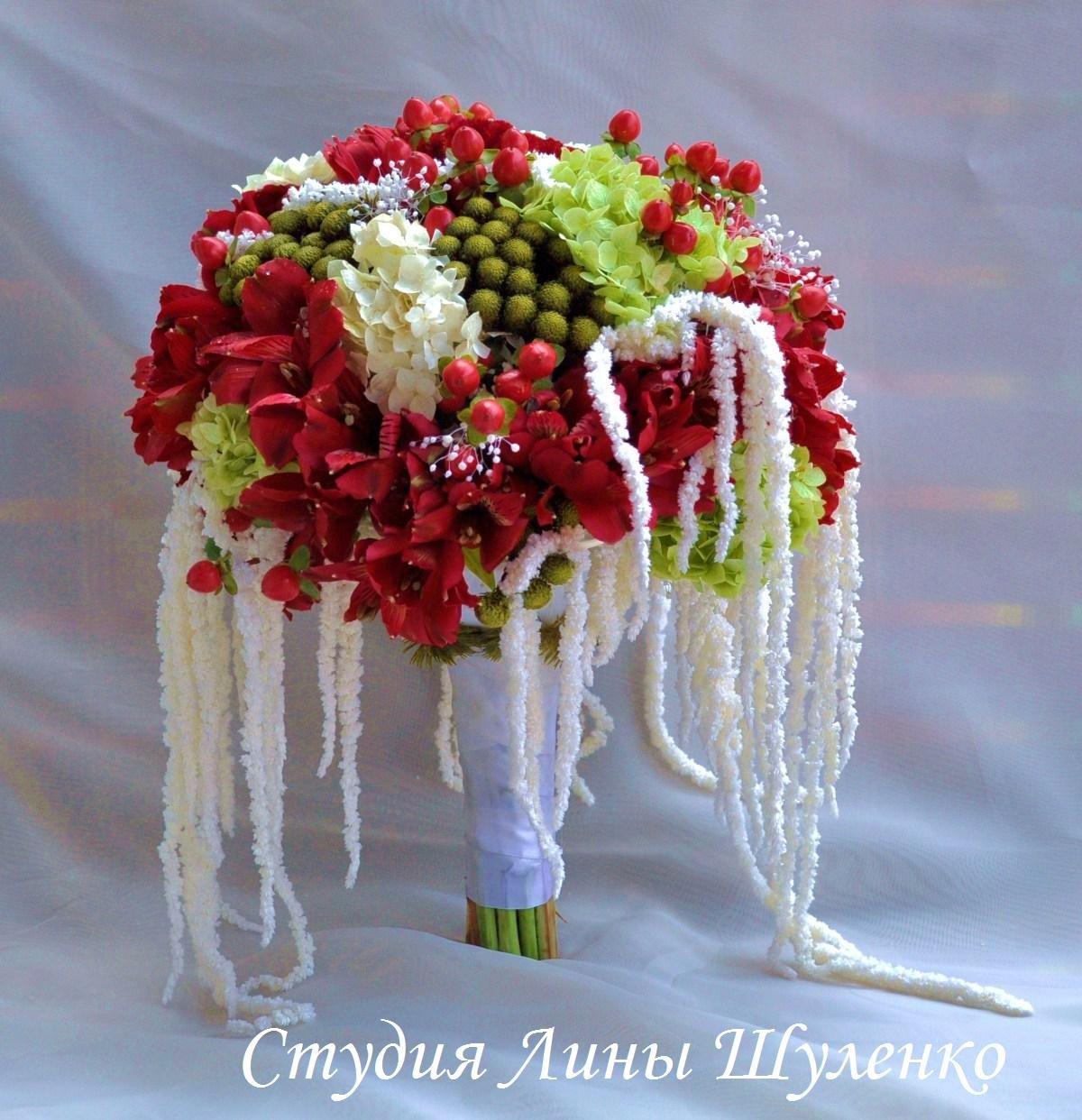Цветов свадебный букет в симферополе зробити
