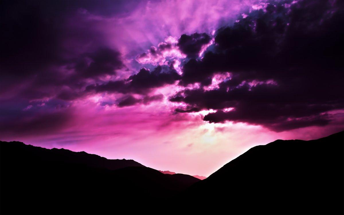 коммерческой картинки лиловое небо отличие обычной
