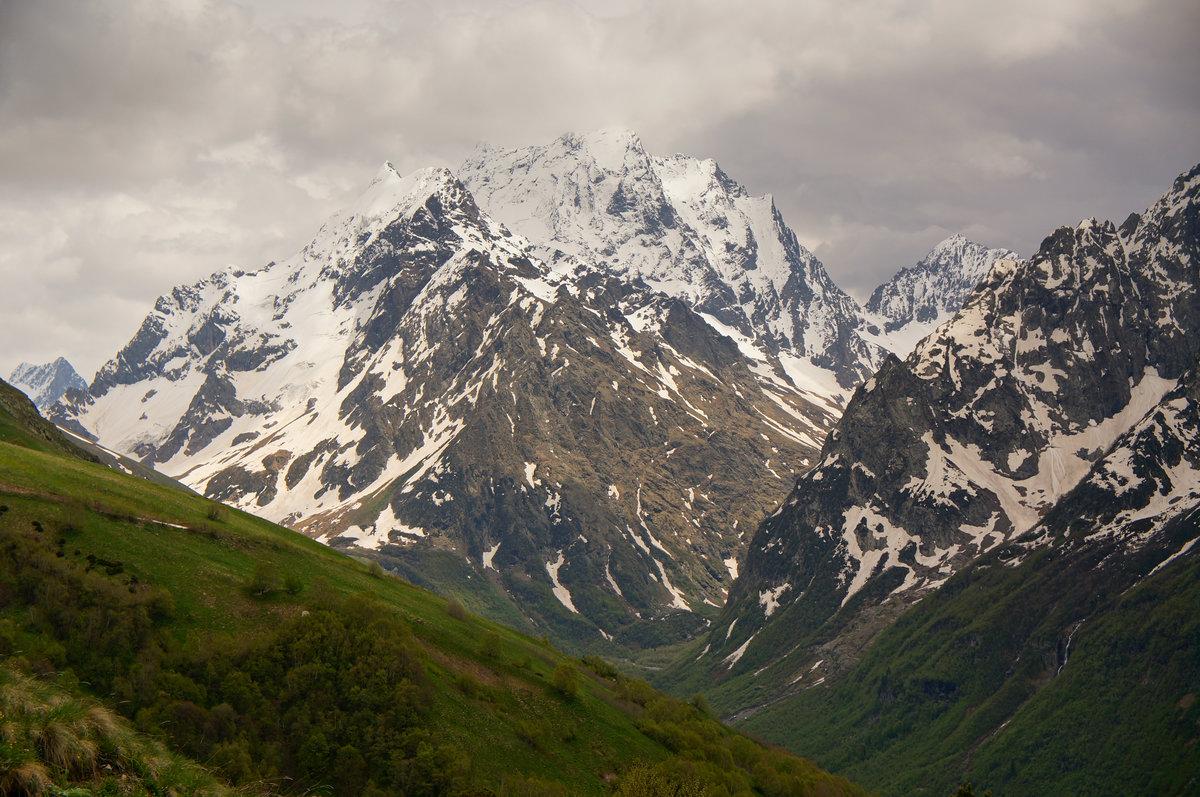 Домбай фотографии гор