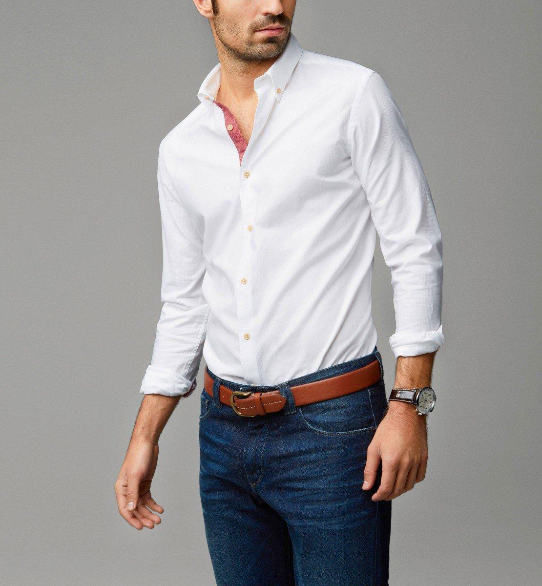 что белая рубашка и джинсы картинки принятом россии